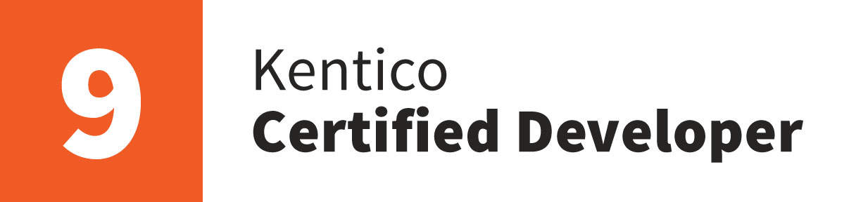 Kentico Certified Developer